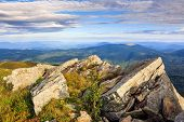 Rocky Ledge At The Mountain Top
