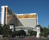 The Mirage Casino on the Las Vegas Strip