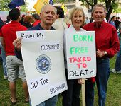 Dallas Tea Party Taxed To Death