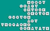 Crossword For The Word Handmade.eps