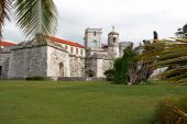 Old Fortress In The Historic Neighbourhood In Havana poster