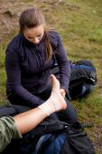 Atadura Tensor de tornozelo