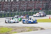 Daytona Beach, FL - Jan 24, 2014:  The Tudor United SportsCar Championship teams take to the track f