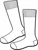 picture of knee-high socks  - socks - JPG