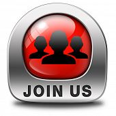 Join us now and register  for free today. Registration red icon member button or membership sign