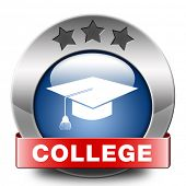 college towards good education and knowledge learn to know educate yourself and go to school blue re