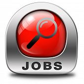 job search find vacancy for jobs dream career move help wanted job ad recruitment job red icon job button hiring now