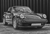 Porsche 911 Targa Black And White