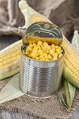 Can With Sweetcorn