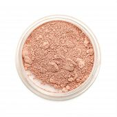 Closeup Used Makeup Powder