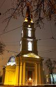 Orthodox Cathedral Dedicated To The Savior's Transfiguration