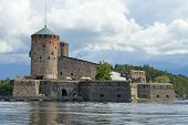 pic of olaf  - The building of Olavinlinna - JPG