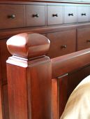 Soft Bedpost With Dresser