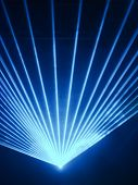 Light Show Rays In Discotheque
