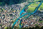 Interlaken Town, Switzerland
