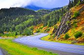Beautiful drive in Alaska