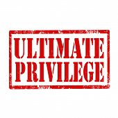 Ultimate Privilege-stamp