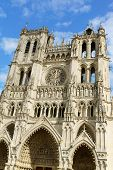 Our Lady Of Amiens Cathedral In France