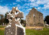 Celtic graveyard ruins