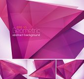 foto of fraction  - Geometric abstract background series - JPG