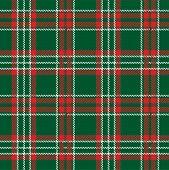 Traditional tartan seamless pattern