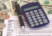 Taxes 1040Ez With Money