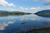 British Lake District Derwent Water The Lakes National Park Cumbria England uk near Keswick