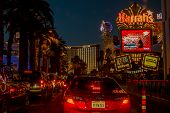 Las Vegas boulevard by night