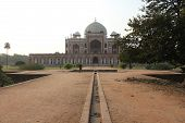 Humayun's Tomb, Architectural Detail. The Place Is The Tomb Of The