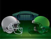 American Football Championship Illustration