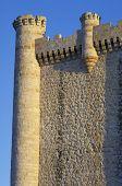 Torija Castle in Guadalajara, Castilla-La Mancha, Spain