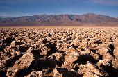 Below Sea Level Devil's Golf Course Death Valley National Park