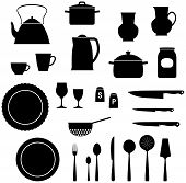 Kitchen Items - Vector illustration