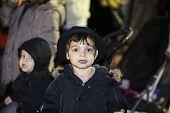 Little boy in fedora