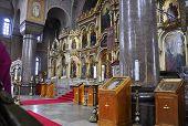 HELSINKI-AUGUST 23:Cathedral Uspenski,interior