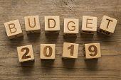 stock photo of reveillon  - Budget for 2019 - JPG