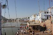 View Of Pushkar Lake