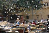 Daily Street Market In Jaipur