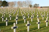 Cemetery World War One In France Vimy La Targette