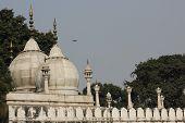 Architectural Detail Of Moti Masjid