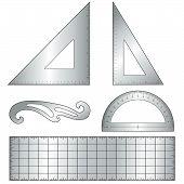 Aluminum Drafting Tools