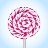 Candy Cane Sweet Spiral