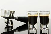 Espresso With Coffee Brewing Device