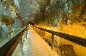 Tunnel At Tel-megiddo