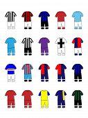 Italian League Clubs Kits 2013-14