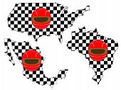 Racing Flag Maps 7
