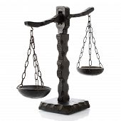 Justitia Horizontal Wooden