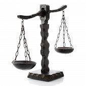 Justitia Horizontal Wooden