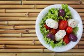 foto of black-cherry  - Fresh salad of heart of palm  - JPG