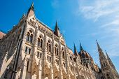 picture of hungarian  - Famous building of Hungarian Parliament - JPG